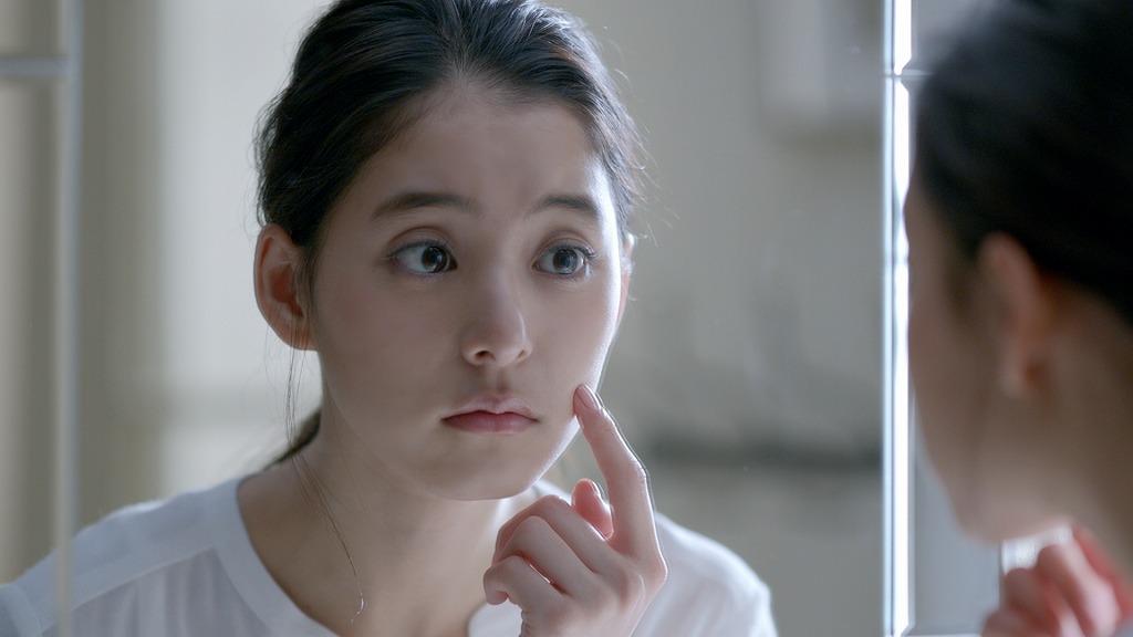 「新木優子 効いてよ チョコラ にきび」篇