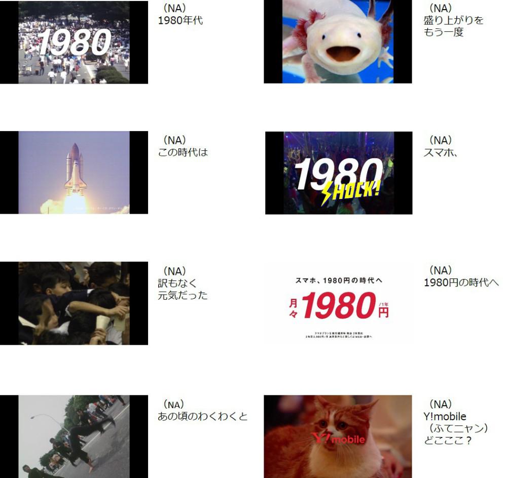 桐谷美玲 Y!mobile 新CM(15秒) 「1980はじまる B」篇