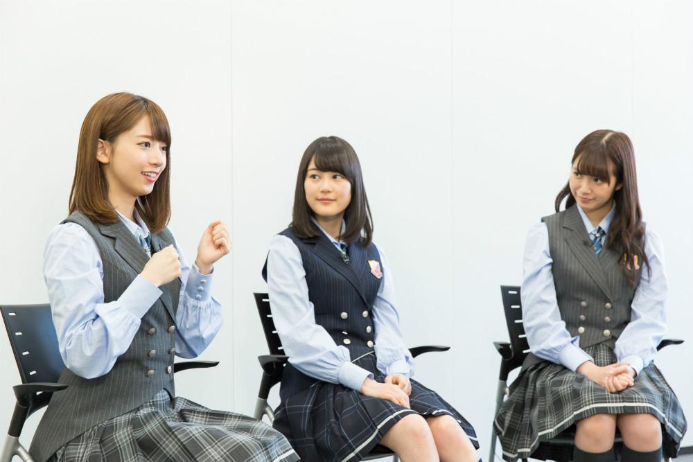 生田絵梨花、 中元日芽香、 橋本奈々未(乃木坂46)スペースシャワーネットワーク