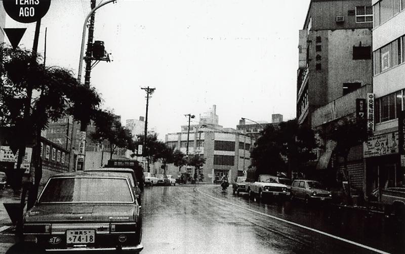 1970年の渋谷公園通り