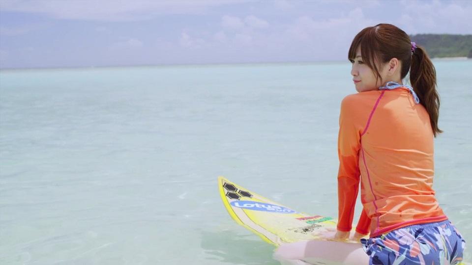 白石麻衣(乃木坂46) 『オフショアガール』MV・サーフィン