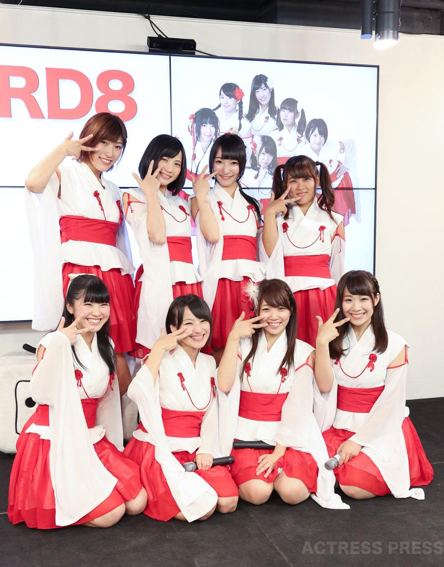 KRD8 兵庫県姫路発アイドルユニット