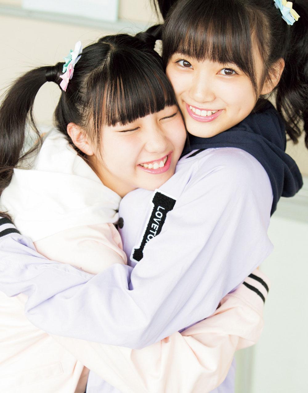 矢吹奈子 (HKT48 チームH/AKB48 チームB兼任)田中美久(HKT48チームH)