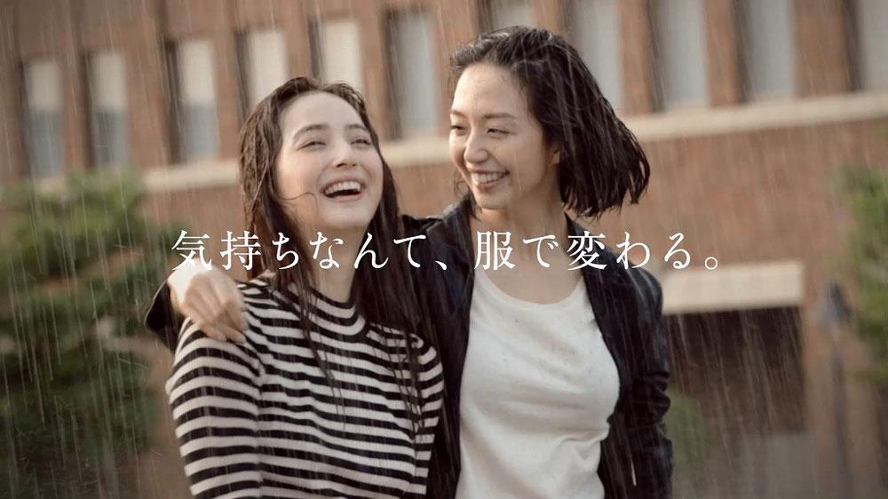 佐々木希 松島花 FABIA(ファビア)のダブルミューズ
