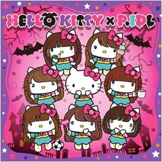 P.IDL Hello Kittyとのコラボシングル『ハロー!ハロウィーン!』