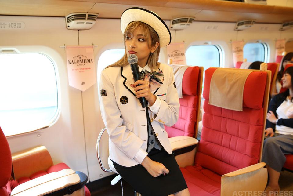 ROLAと行く九州新幹線の旅