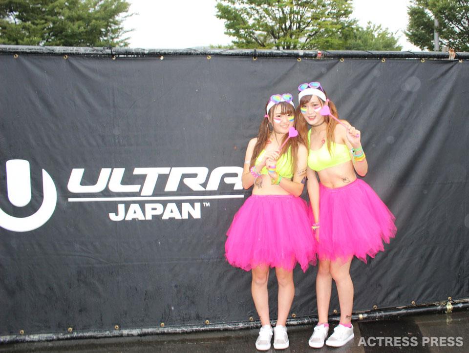 フェスファッション美女 ULTRA JAPAN 2016
