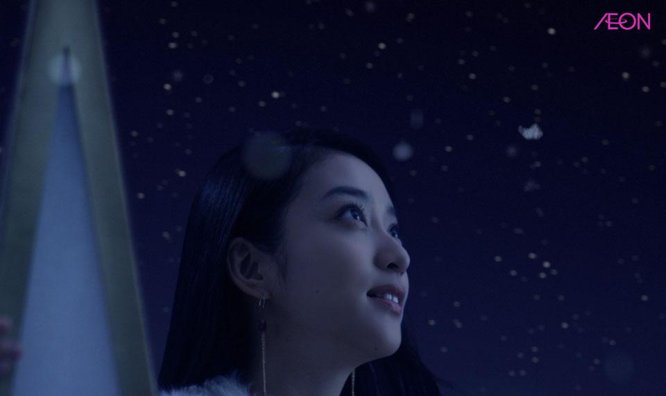 武井咲 イオン クリスマスCM