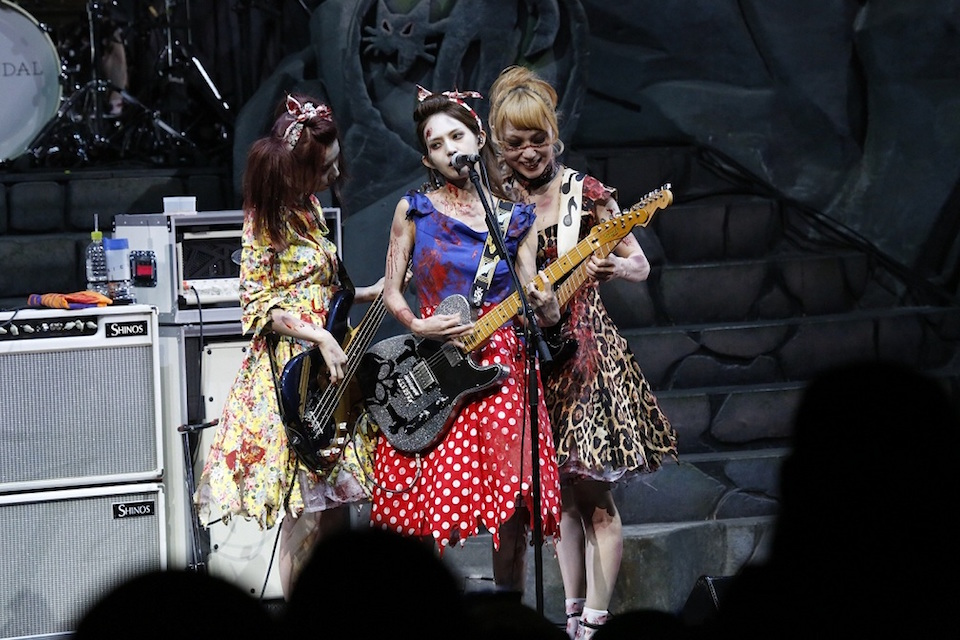 SCANDAL・USJ ハロウィン ライブ