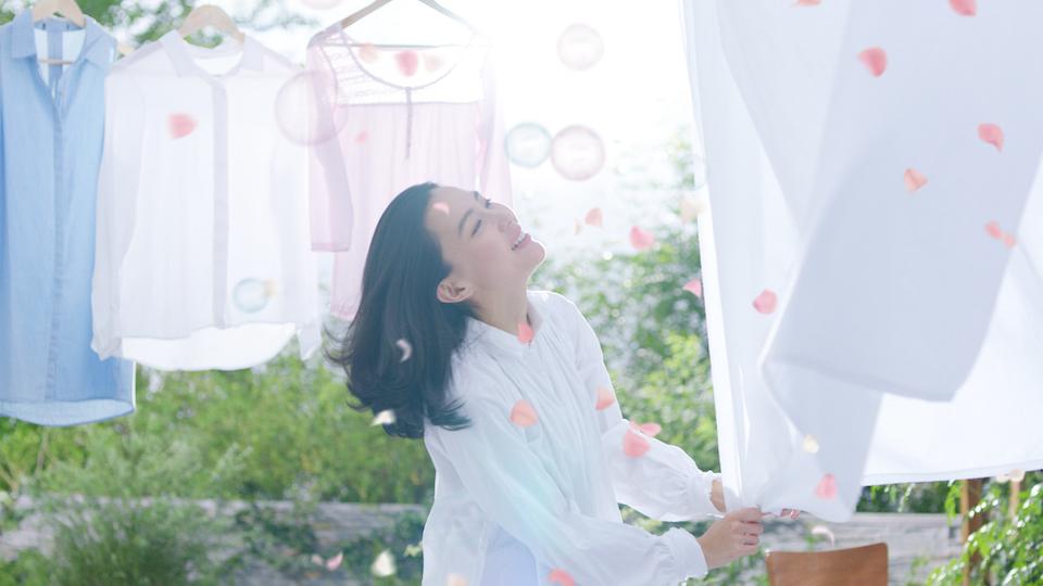 木村佳乃・フレグランスニュービーズ・2016初摘みローズヌーヴォーCM 美術館篇