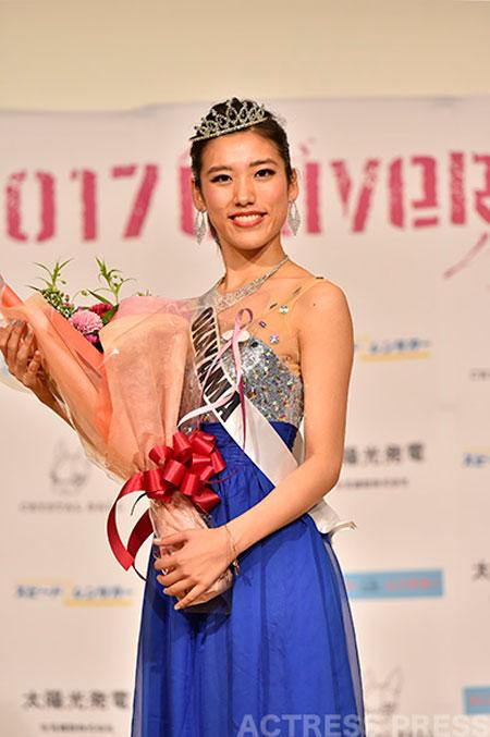 池田あおい ミス・ユニバース・ジャパン岡山代表
