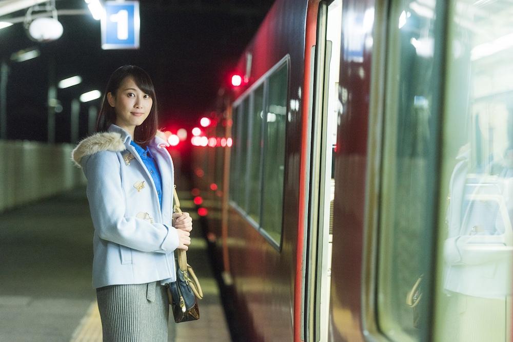 松井玲奈 メ~テレドラマ「名古屋行き最終列車2017」