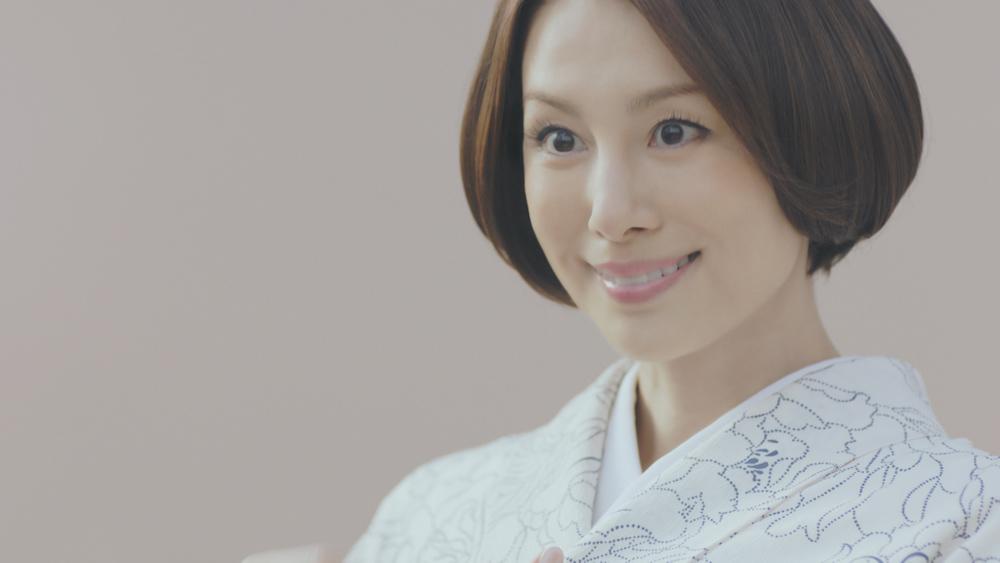 米倉涼子・日本和装 着物 新CM