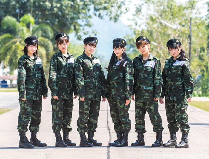 "AKB48メンバーが伝説の企画""軍隊ロケ""に挑む!『AKB48 ネ申テレビ』"