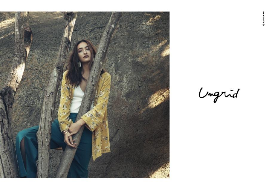 長谷川潤 Ungrid2017ss