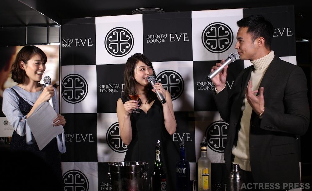 大川藍・ユージ・ORIENTAL LOUNGE EVE 渋谷店