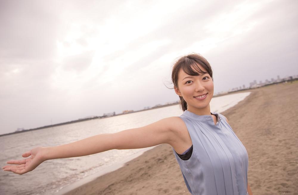 阿部華也子(「めざましテレビ」7代目お天気キャスター)