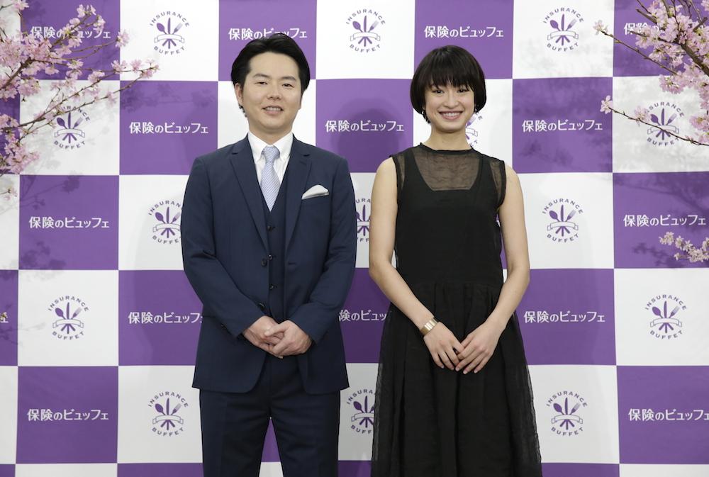門脇麦・保険のビュッフェ 新TVCM発表会