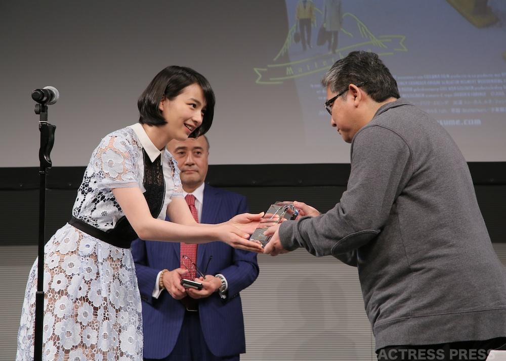 のん・スターチャンネル映画予告編大賞 授賞式