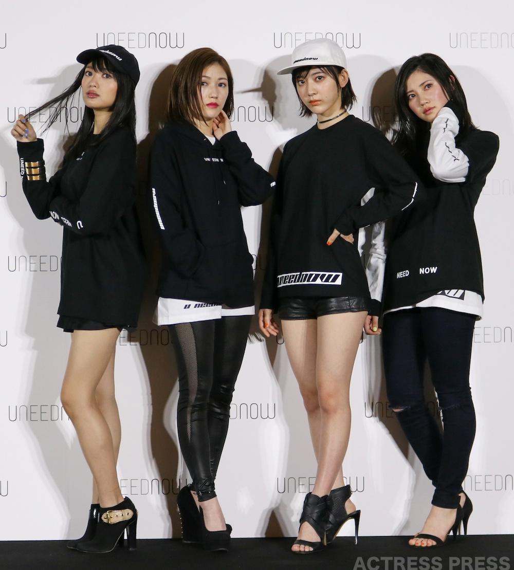 渡辺麻友・北川綾巴・宮脇咲良・北原里英 出演!AKB48グループメンバー公認ECファッションブランド・UNEEDNOW
