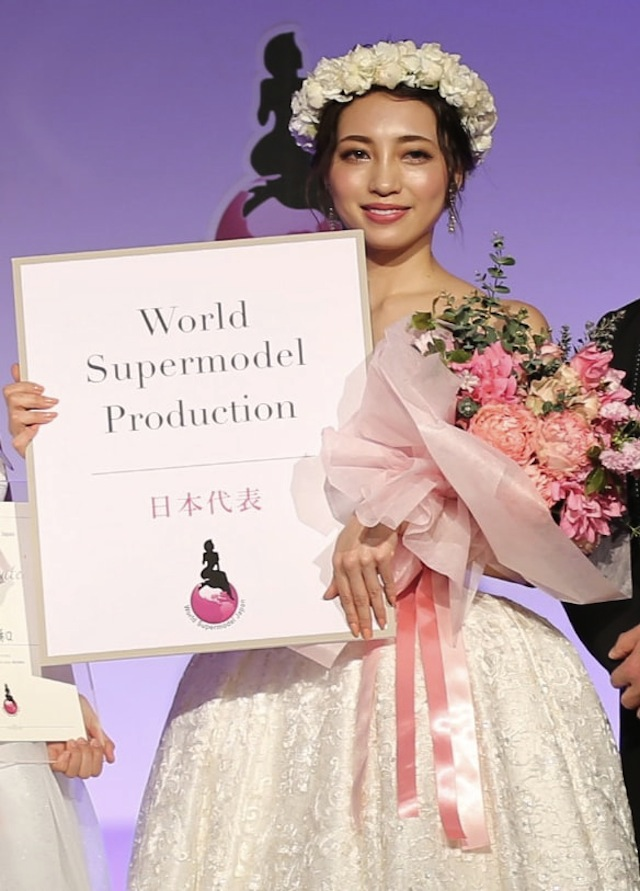 斎藤唯可・World Supermodel Japan