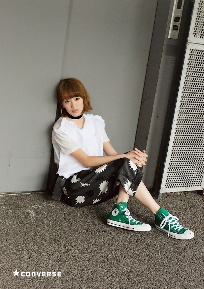 越野アンナ(anderlust)ABC-MART CONVERSE ALL STAR 100 CM