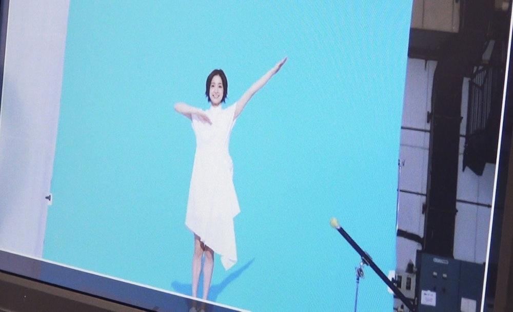 戸彩・江崎グリコ「高濃度ビフィズス菌飲料BifiX1000α・CM