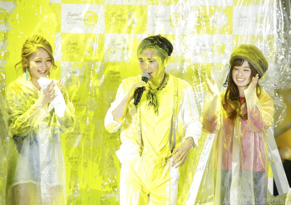 オリラジ・藤森、池田美優・SUPER C CHANNELで黄色く染まる