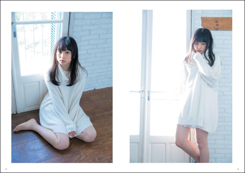 桜井日奈子 CM MAKING PHOTO BOOK