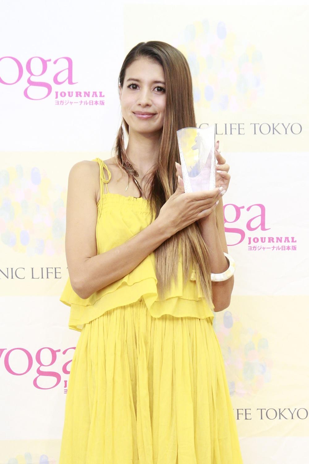 吉川ひなの・ヨガジャーナル presents Yoga People Award 2017
