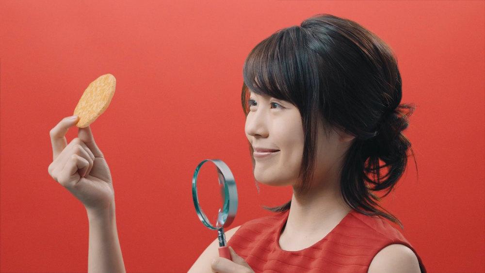 有村架純・亀田のお菓子