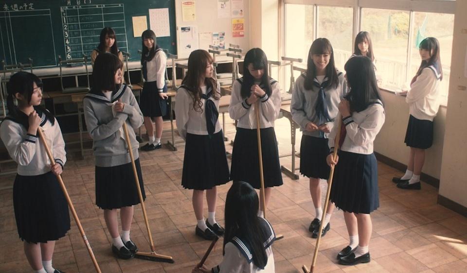 けやき坂46・僕たちは付き合っている MV(欅坂46)