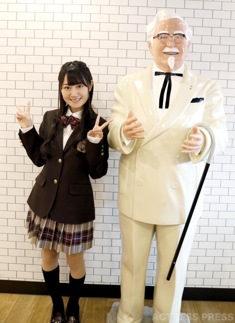 小倉唯・ドラマ・ケンタッキーもしも劇場