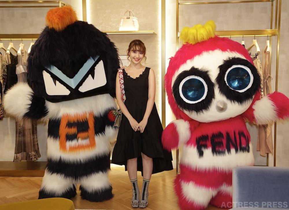 小嶋陽菜、フェンディ 表参道店のオープニングイベント