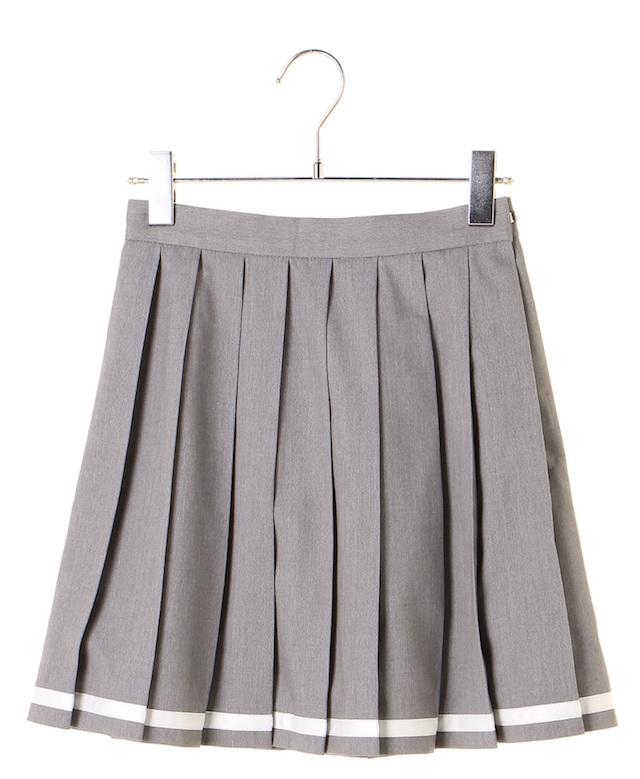 ラインプリーツスカート
