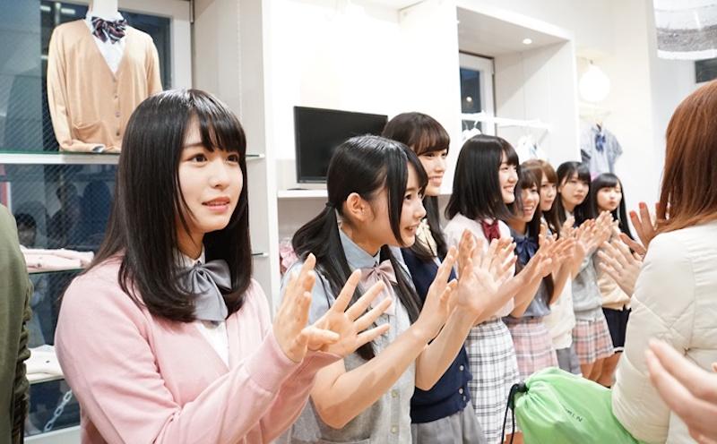 けやき坂46・通学関連アイテムブランドのイベント