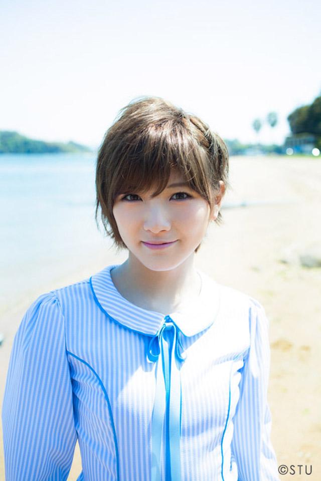 岡田奈々 STU48キャプテン