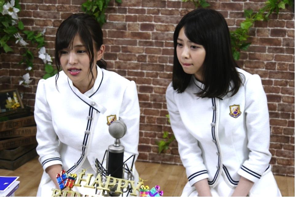 西野七瀬 & 伊藤かりん W誕生日祝!乃木坂46 SHOWROOM配信