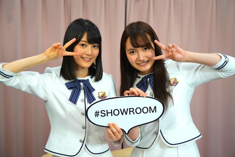 生田絵梨花と中元日芽香(乃木坂46)SHOWROOM