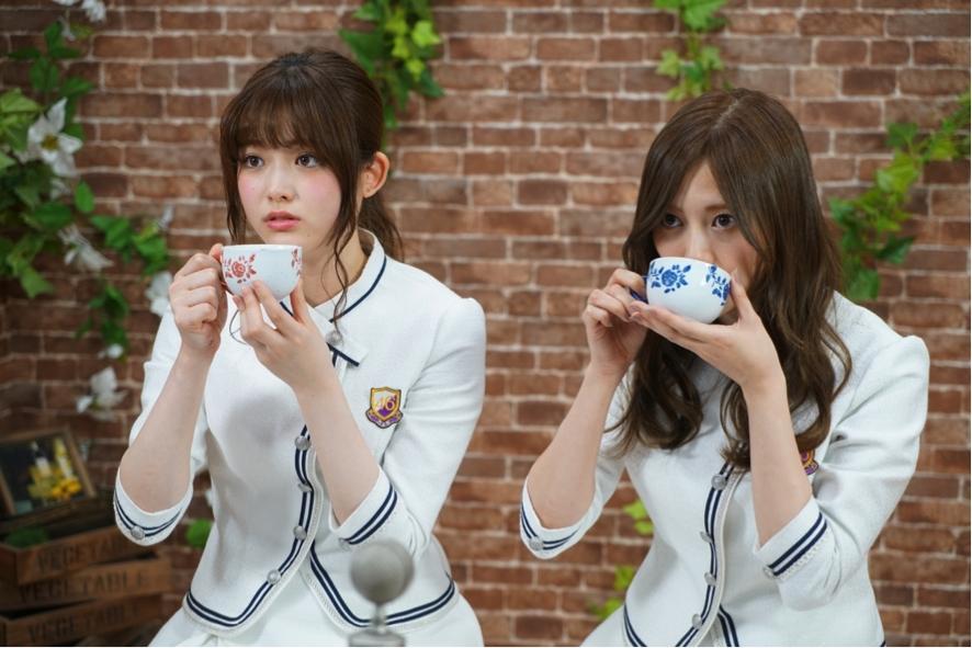 白石麻衣 & 松村沙友理、乃木坂46・SHOWROOM特番 CAFE