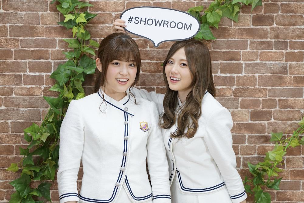 白石麻衣 & 松村沙友理、乃木坂46・SHOWROOM特番