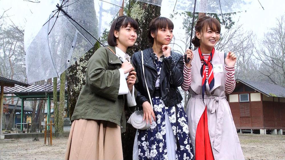 柳英里紗&水崎綾女・お見合いパーティー @メ~テレドラマ「岐阜にイジュー!」