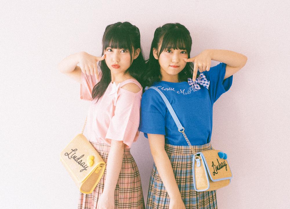 田中美久、 矢吹奈子、 共にHKT48