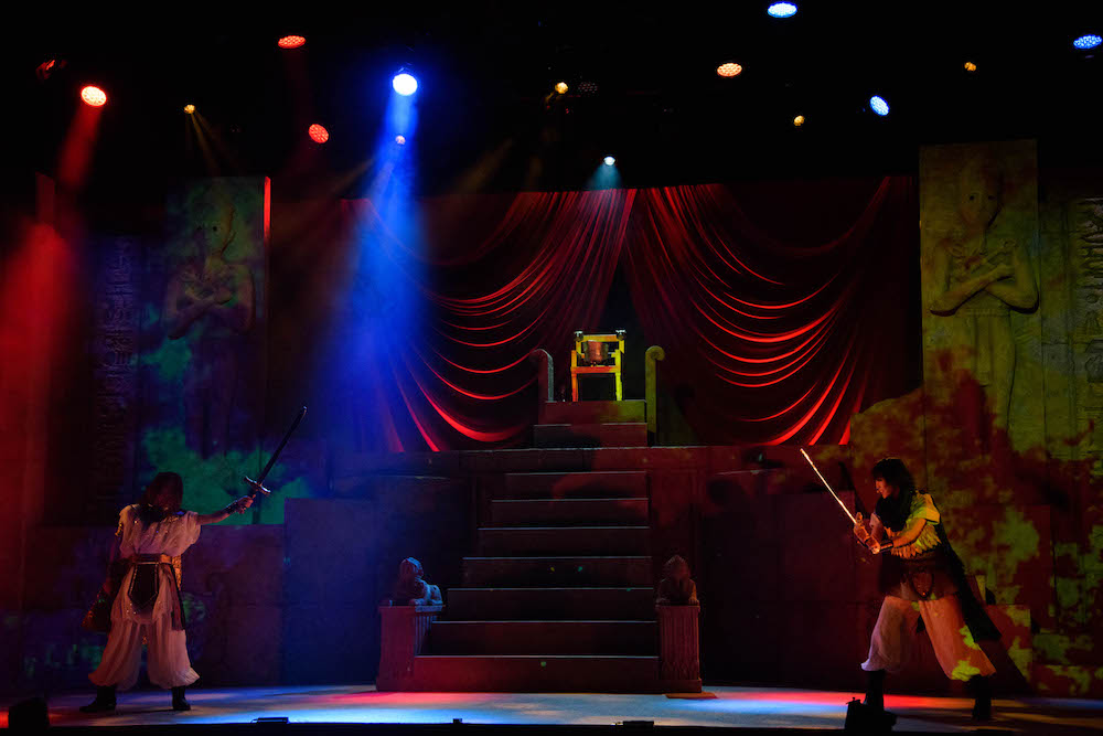 モーニング娘。'17主演 演劇女子部『ファラオの墓』