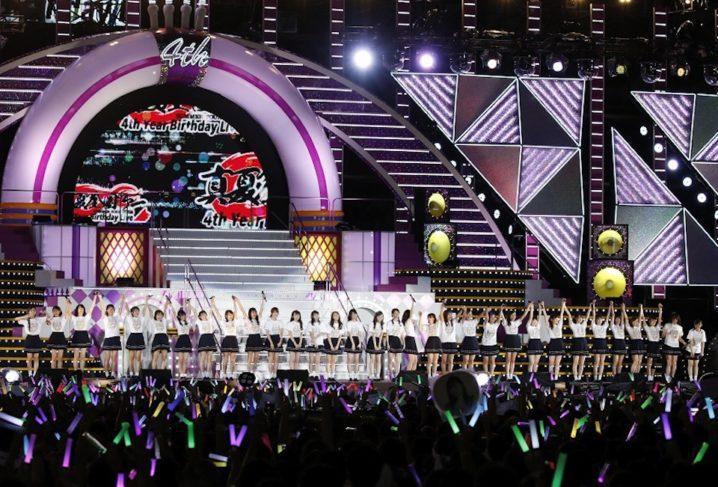 乃木坂46、伝説のライブ(4th YEAR BIRTHDAY LIVE)
