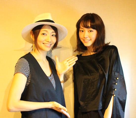 桐谷美玲・眞鍋かをり TOKYO FM