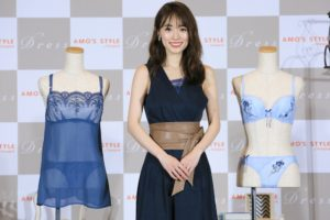泉里香、AMO'S STYLE by Triumph『Dress(ドレス)』