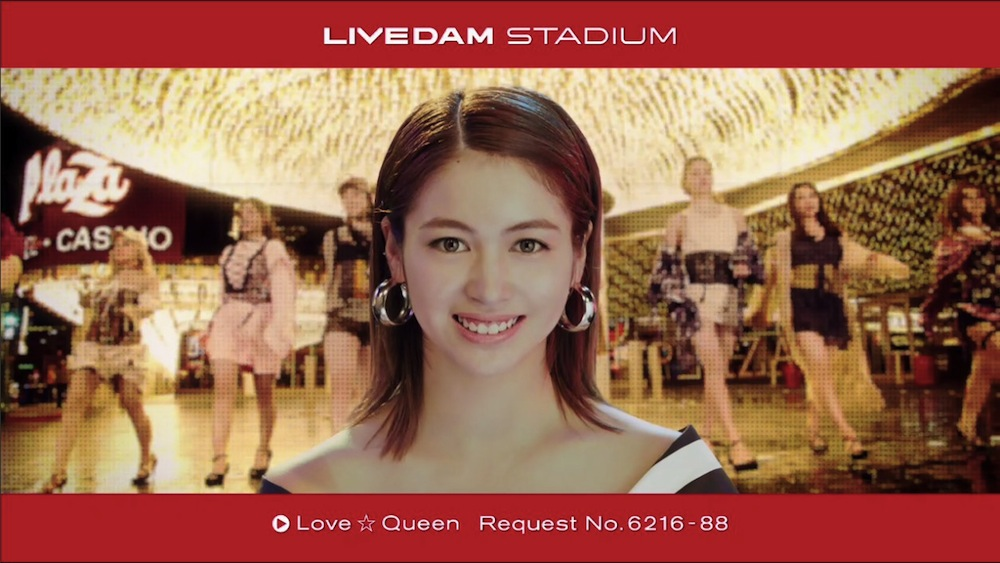 新生E-girls!「LIVE DAM STADIUM」TVCM