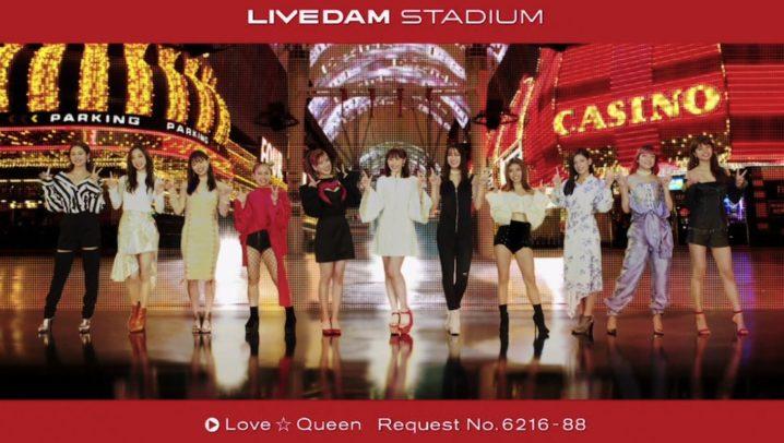 新生E-girls!「LIVE DAM STADIUM」TVCM