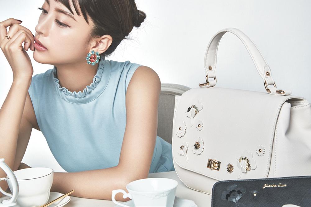 山本美月、レディースバッグブランド『Jewelna Rose』新ミューズ